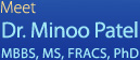 Dr. Minoo Patel,MBBS, MS, FRACS, PhD - Centre for Limb Lengthening & Reconstruction
